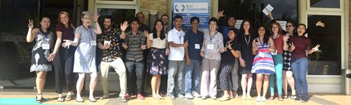Launch of the Blue Communities ECRN at the 2018 Annual Meeting in Palawan, Philippines